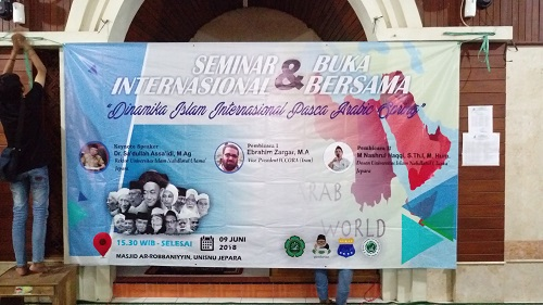 Seminar on the status of Islam after Arab Spring, NU University, Jepara, Indonesia