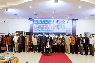 """International Seminar on """"Islam as the Unifying Force for Peace and Harmony in Southeast Asia"""", Palembang"""